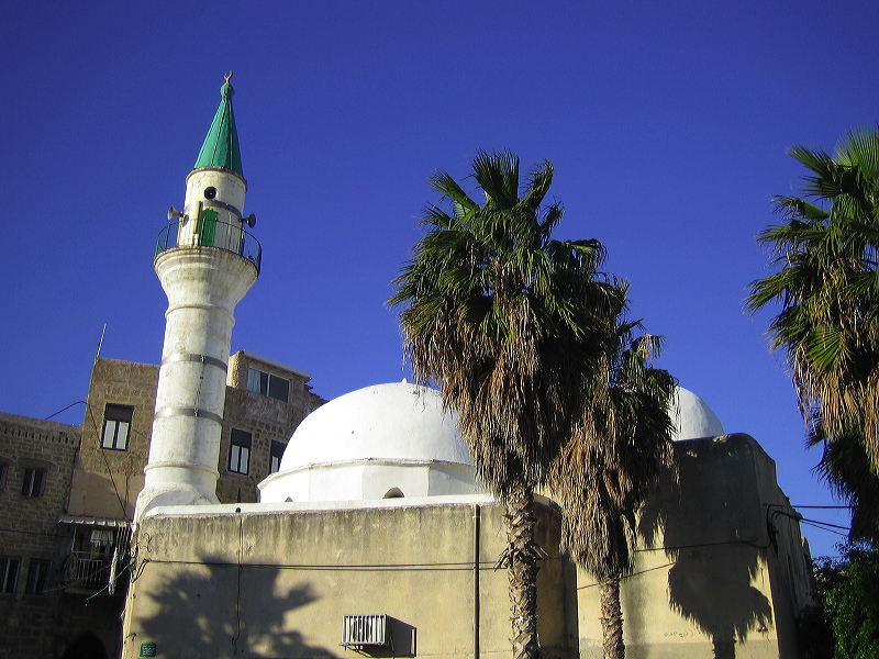 Acre - عكا : Al-Zaytun Mosque in Acre's Old City