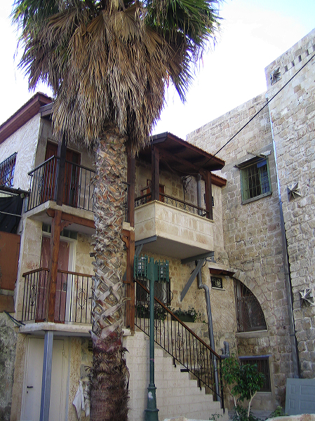 Acre - عكا : Cluster of old Palestinian houses in the old city of Akka #1