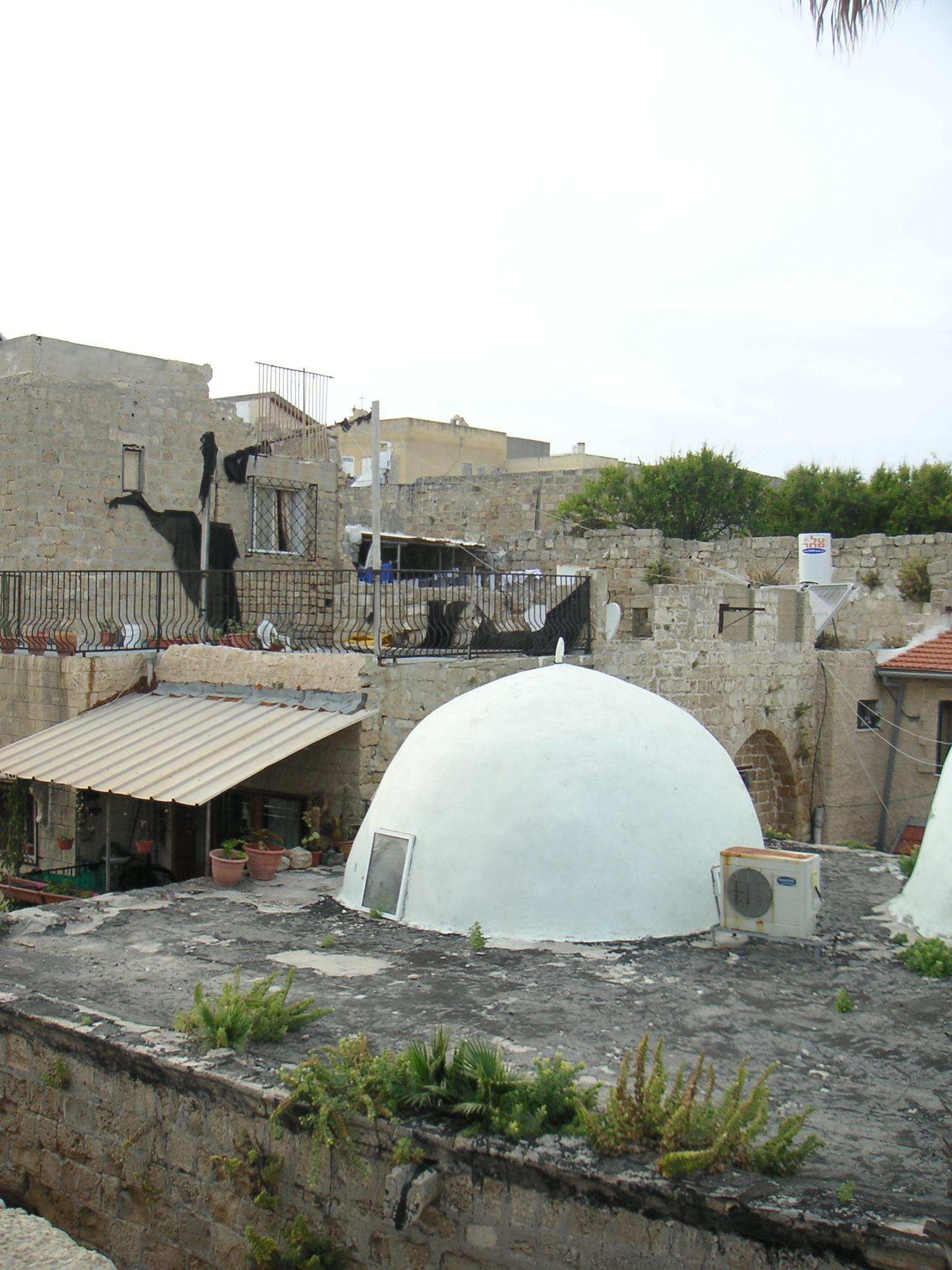 Acre - عكا : Cluster of old Palestinian houses in the old city of Akka #5