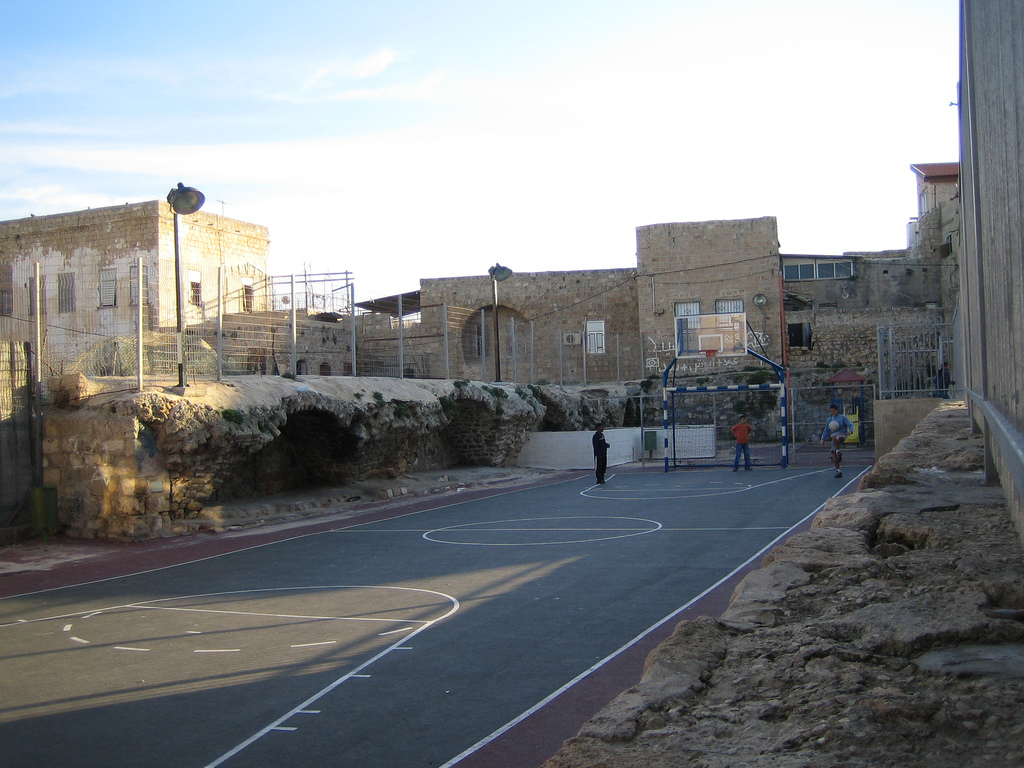 Acre - عكا : Play ground within the old city