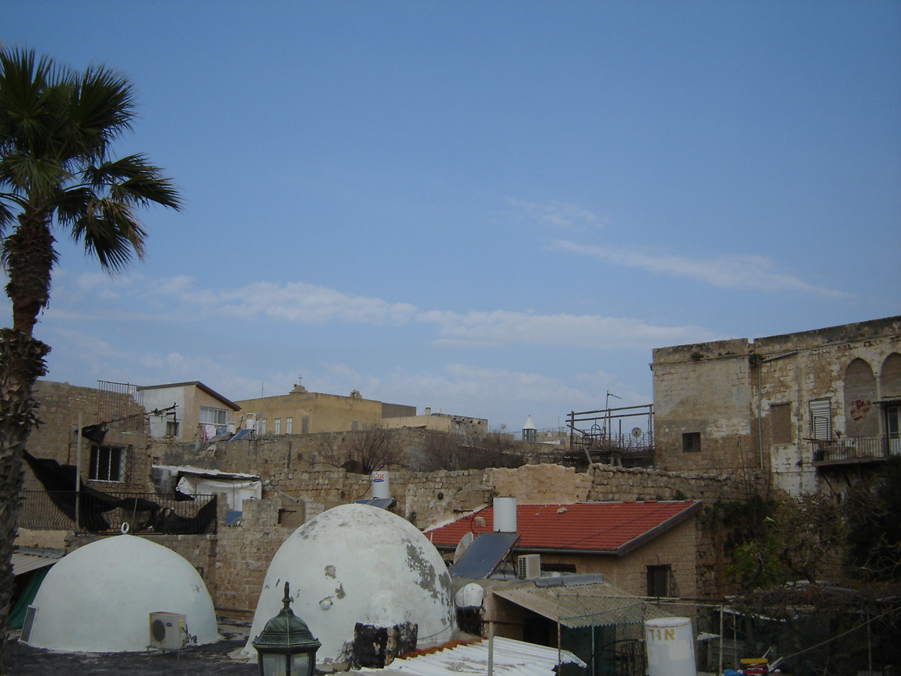 Acre - عكا : A rooftop view for the Akka