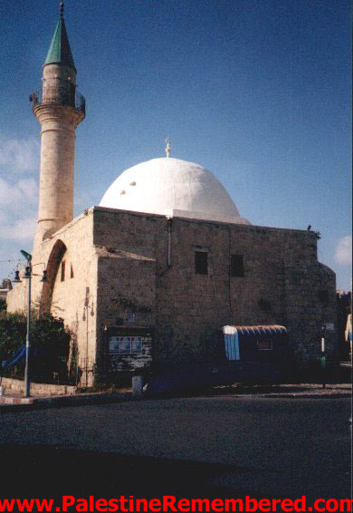 Acre - عكا : One of Acre's mosques