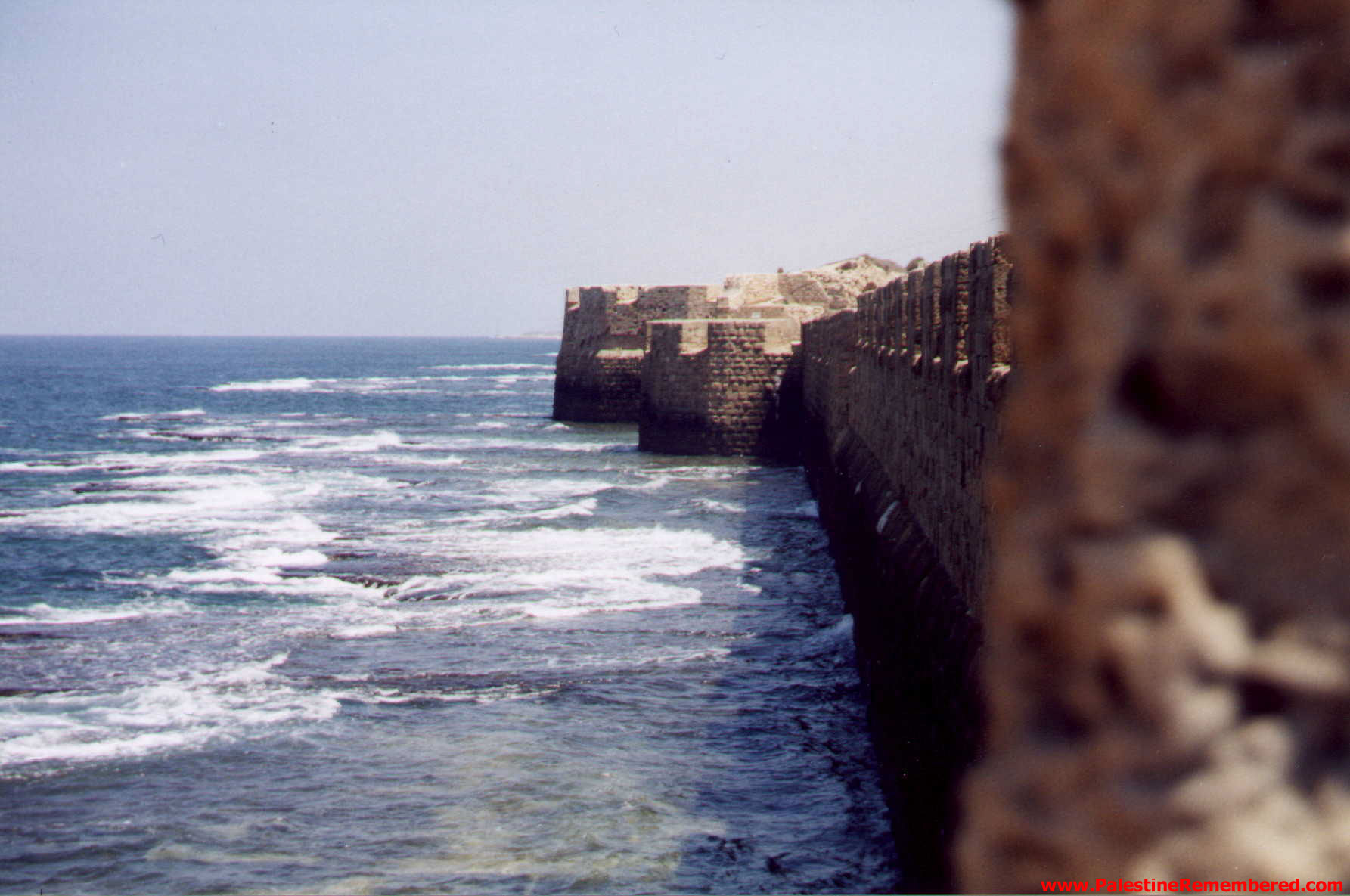 Acre - عكا : Acre's western sea walls 2