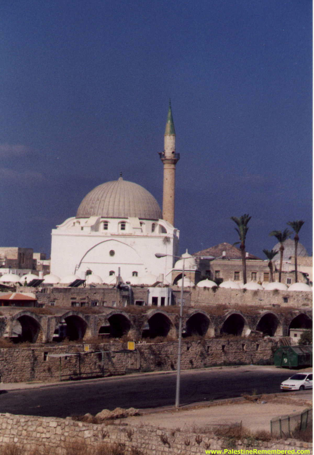 Acre - عكا : al-Suq al-'Byad (The White Market) And The Mosque Of Ahmad Basha al-Jazzar