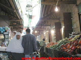 Acre - عكا : Akka's Bustling Market In The Old City, 1990s #2