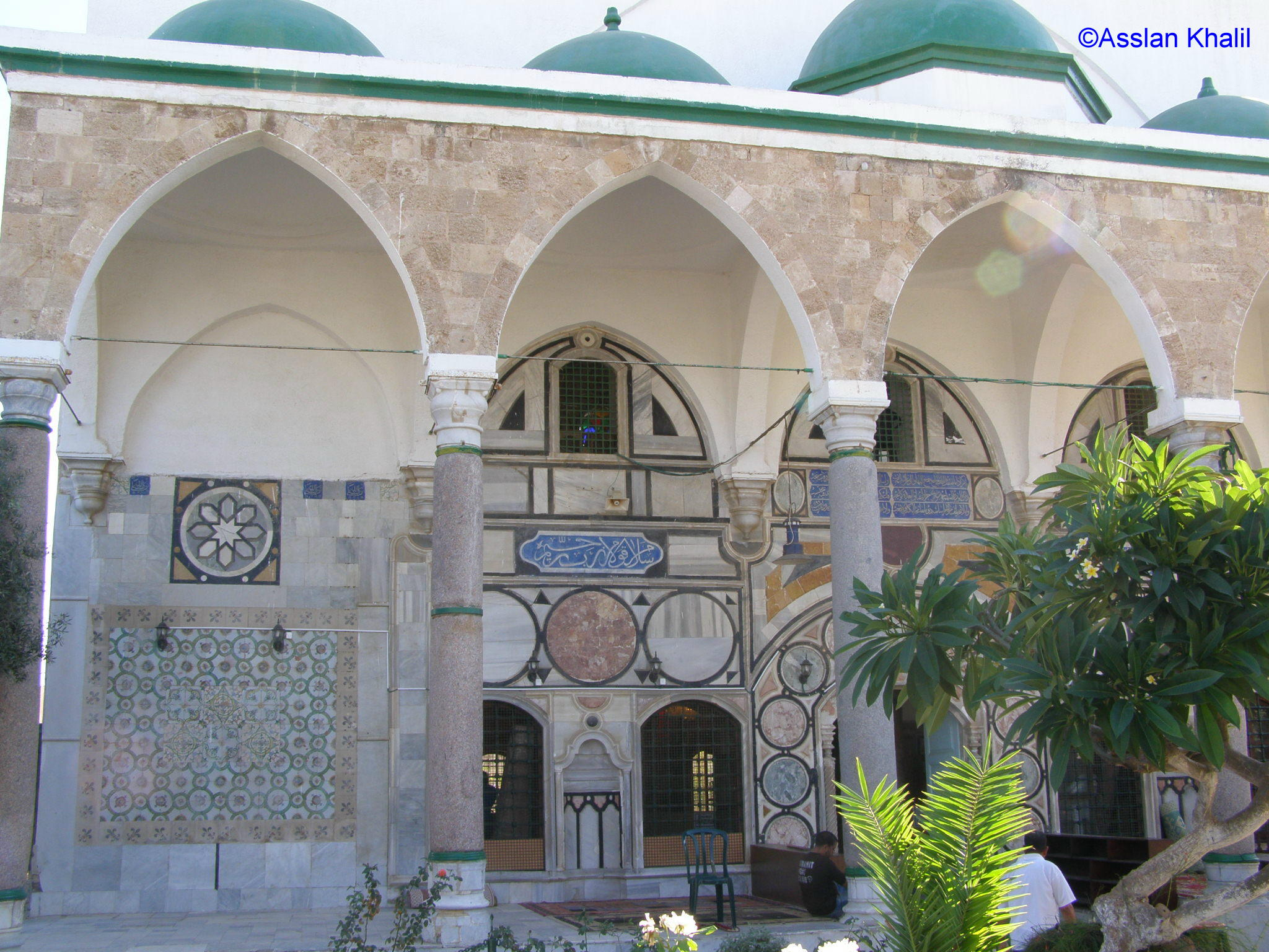 Acre - عكا : Al-Jazzar Mosque Entrance - Akka