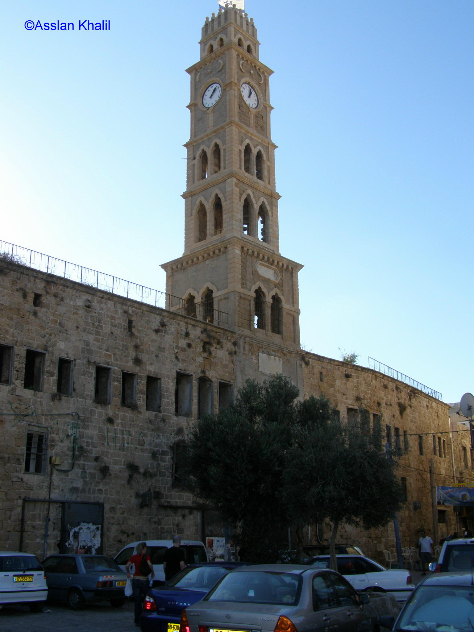 Acre - عكا : The Clock Tower