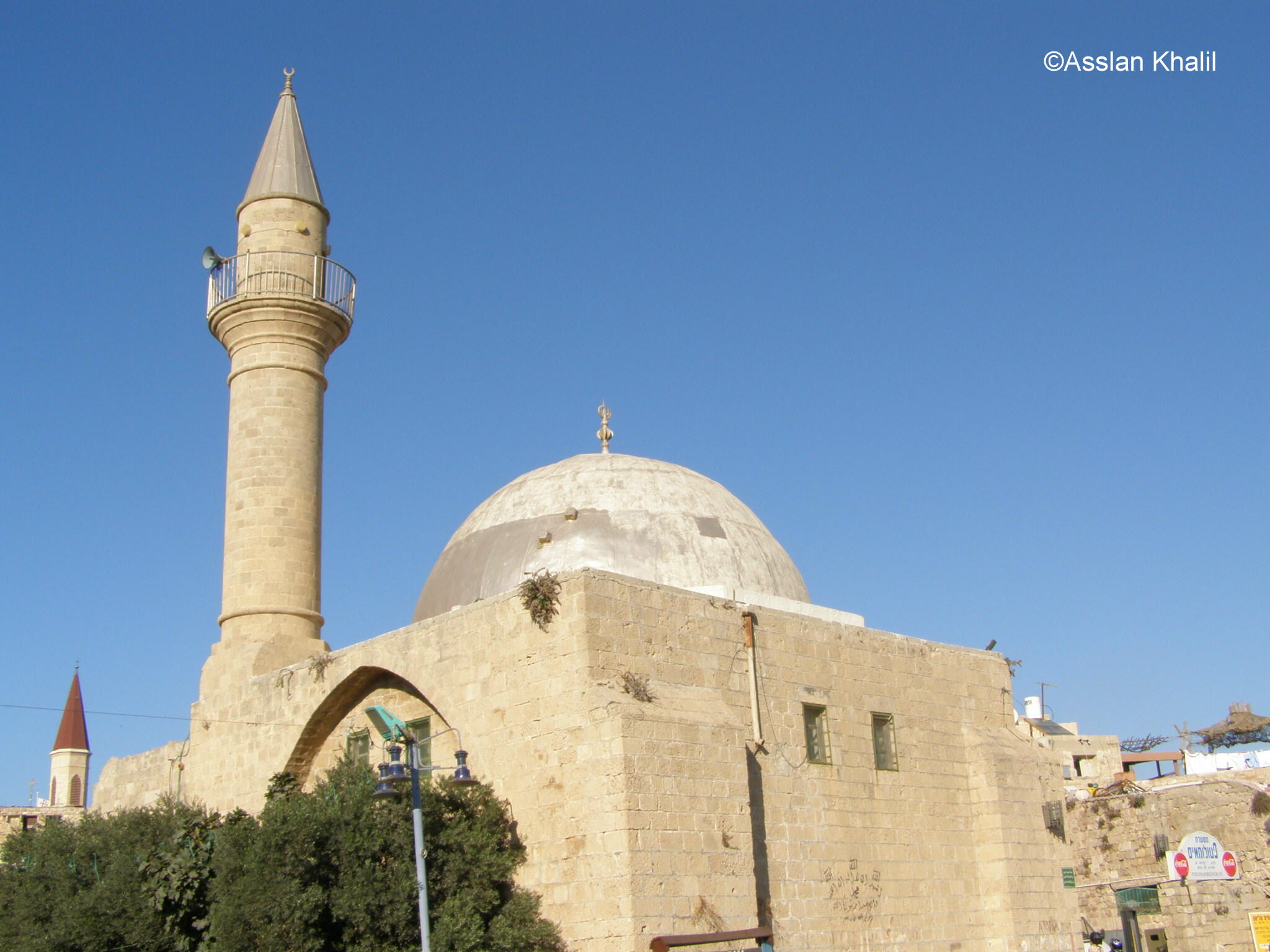 Acre - عكا : The Port Mosque