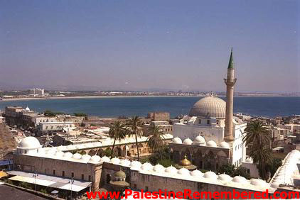 Acre - عكا : General View Of Acre Looking South & Overlooking al-Jazzar Mosque, 1998