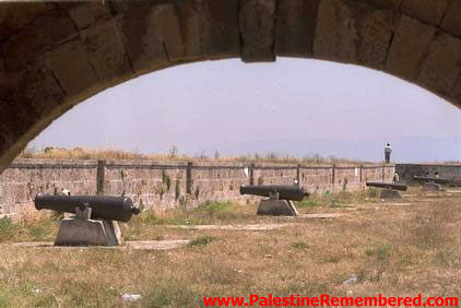 Acre - عكا : Acre 's Mighty Cannons Which Defeated Napoleon in the Early 19th Century, 1998