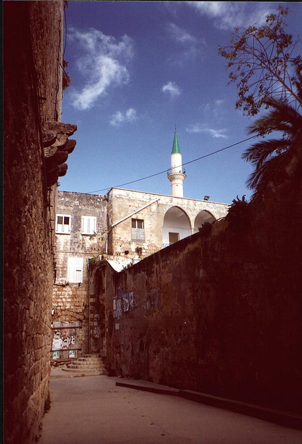 Acre - عكا : A closed entrance to one of Akka's mosques #2, 2000