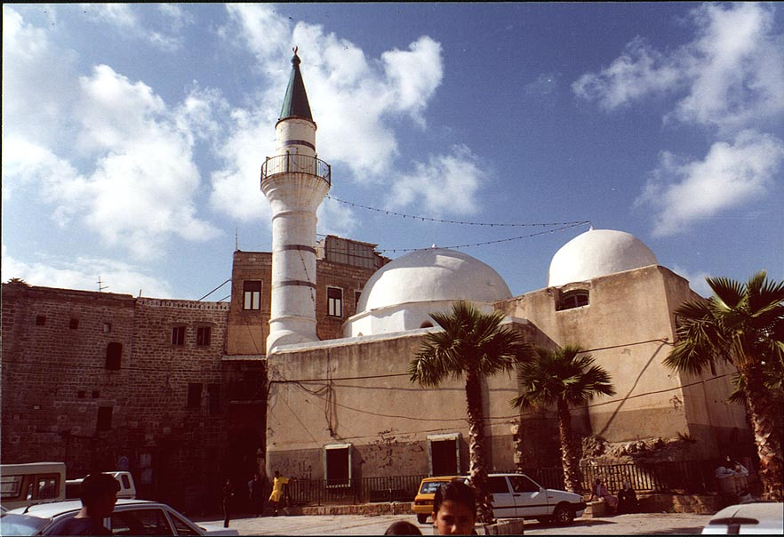 Acre - عكا : One of the Palestinian Muslim mosques in the old city of Akka, 2000