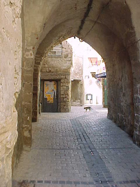 Acre - عكا : An Arched Ally In Old City Of Akka #, 2000