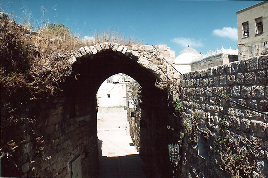 Acre - عكا : An Arched Ally In Old City Of Akka #5, 2000