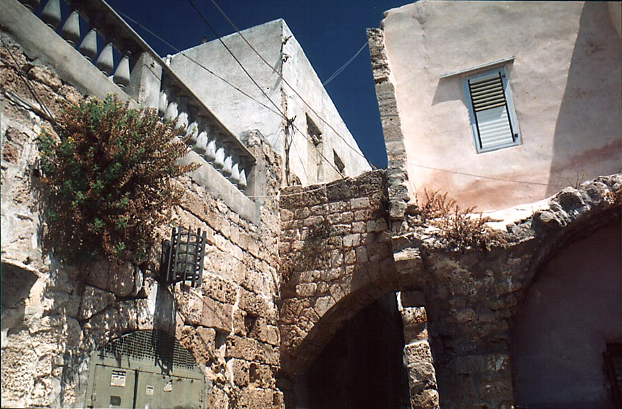 Acre - عكا : An Arched Ally In Old City Of Akka #6, 2000