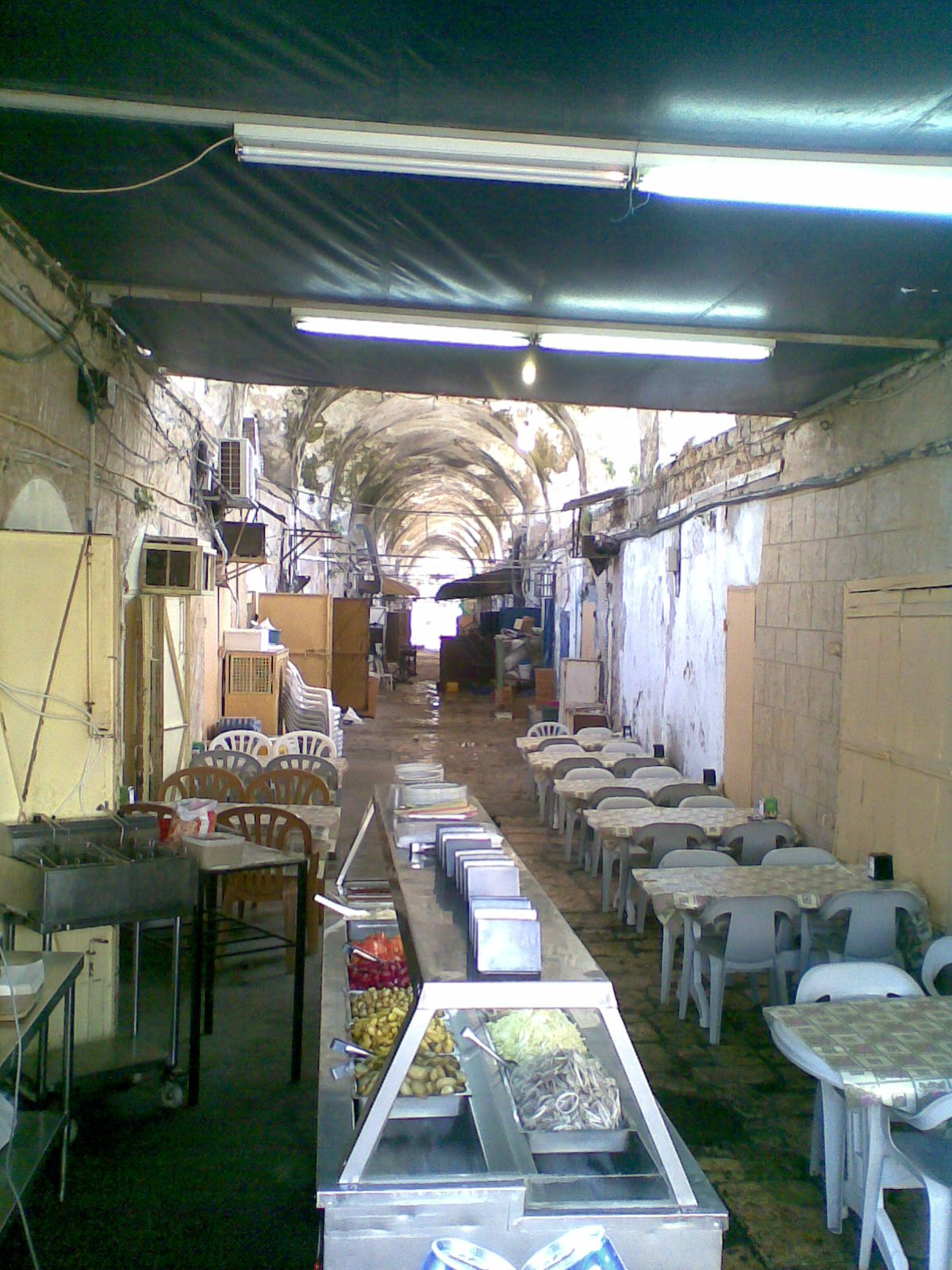 Acre - عكا : Aka - Old City/Market close to Aka Port @ Friday Mornning 6th March -2008 captured by M. Hajier