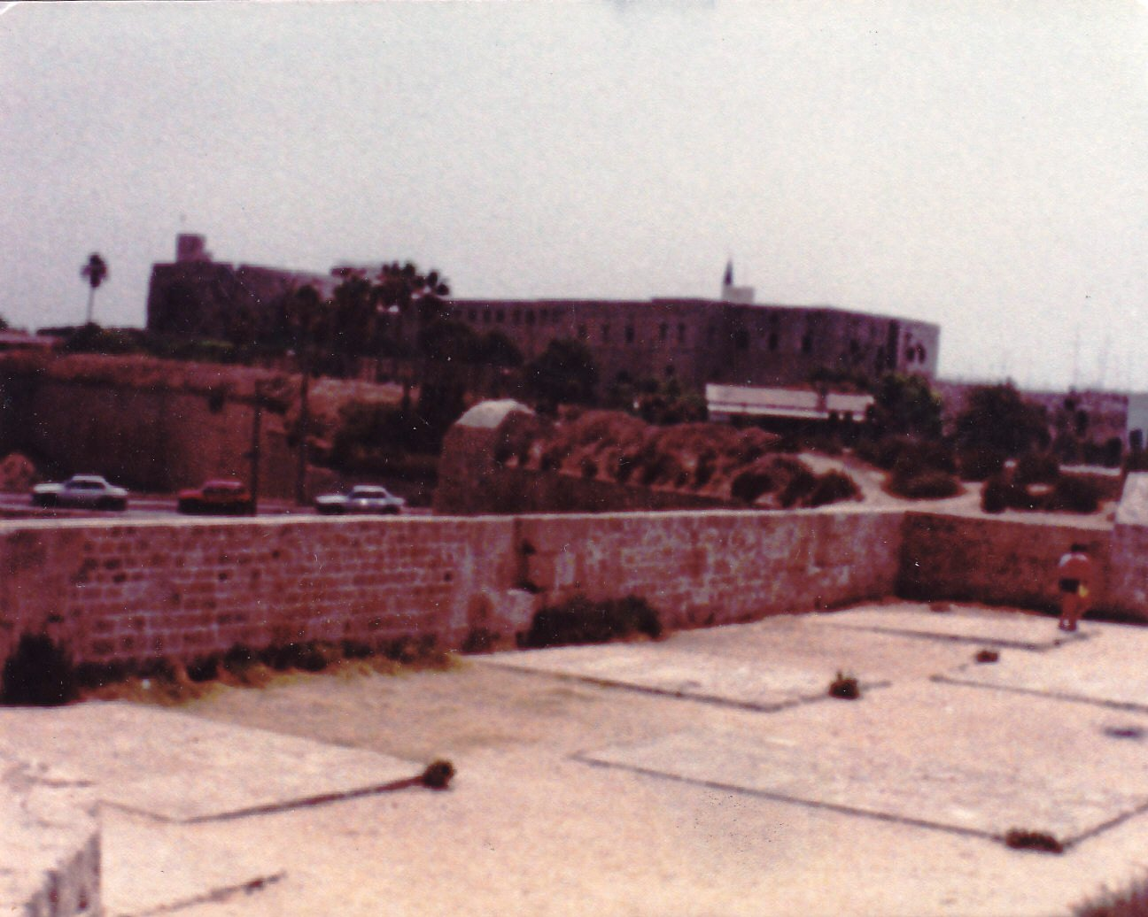 Acre - عكا :   Inside the wall 1st of August 1983
