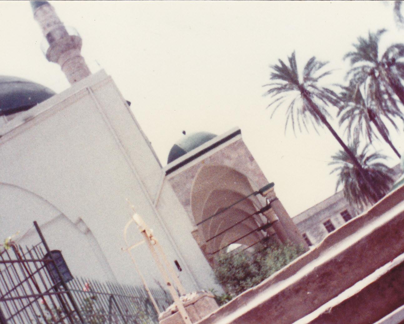 Acre - عكا :   Another picture of al-Jazzar's mosque on monday august 1 , 1983