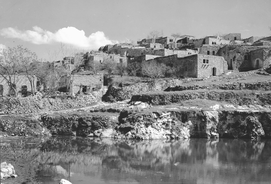 Suhmata - سحماتا : Suhmata in the early 1950s before destruction