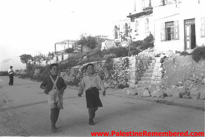 Tarshiha - ترشيحا : New Jewish Immigrants in Tarshiha Soon After Occupation