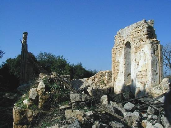 al-Mansura - المنصوره : The destroyed church