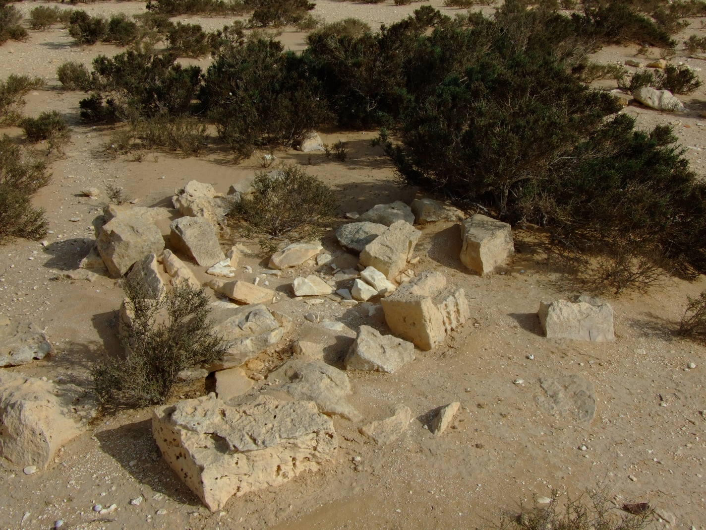 al-Khalasa - الخلصة : Graveyard, SE of the village