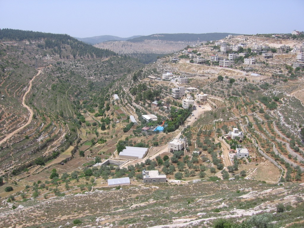 Battir - بتّير :  General View of Ain Jame' Area منظر عام لمنطقة عين جامع