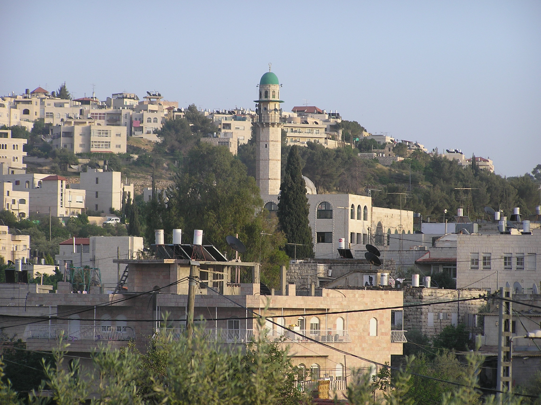 Bayt Safafa - بيت صفافا : A Close View Of Mosque In Center Of Village.