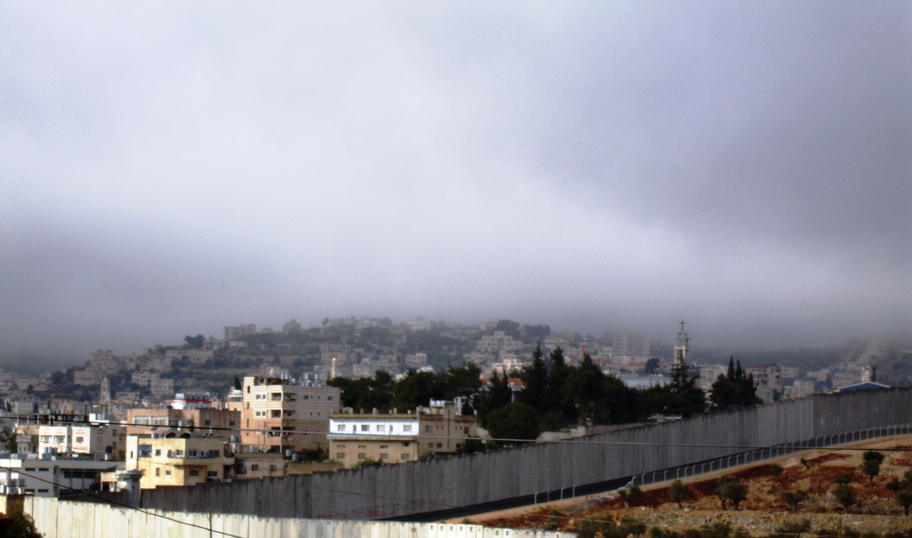 Bethlehem - بيت لحم : The Apartheid Wall surrounding the city