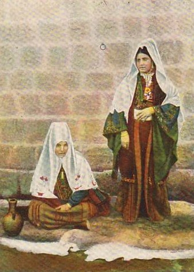 Bethlehem - بيت لحم : Woman of Bethlehem 5 (late 19th early 20th c.)