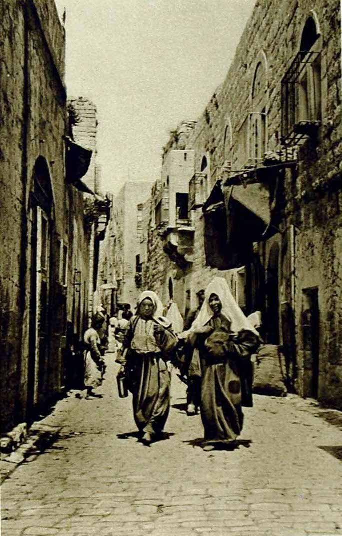 Bethlehem - بيت لحم : Women of Bethlehem 38 (1919)