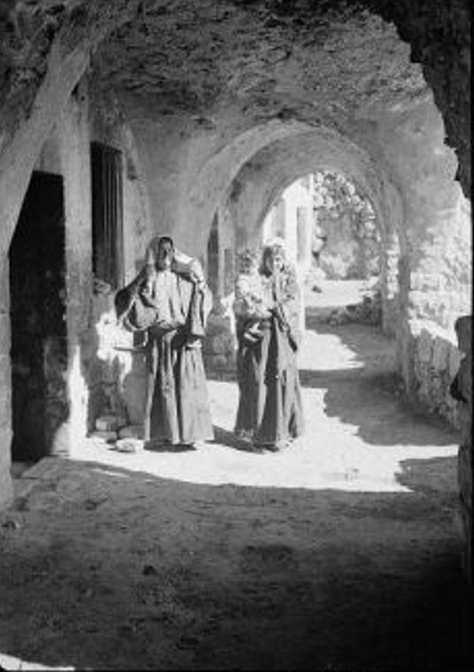 Bethlehem - بيت لحم : Women of Bethlehem 73 - (late 19th early 20th c.)