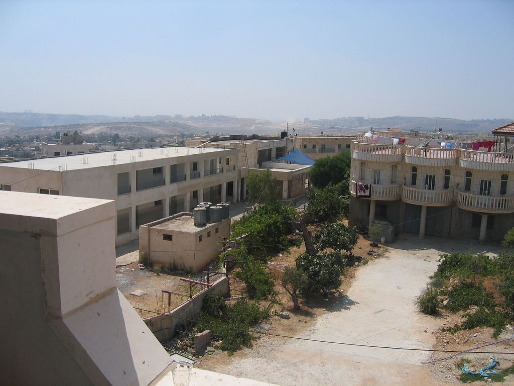 Bil'in - بلعين : A school in the town