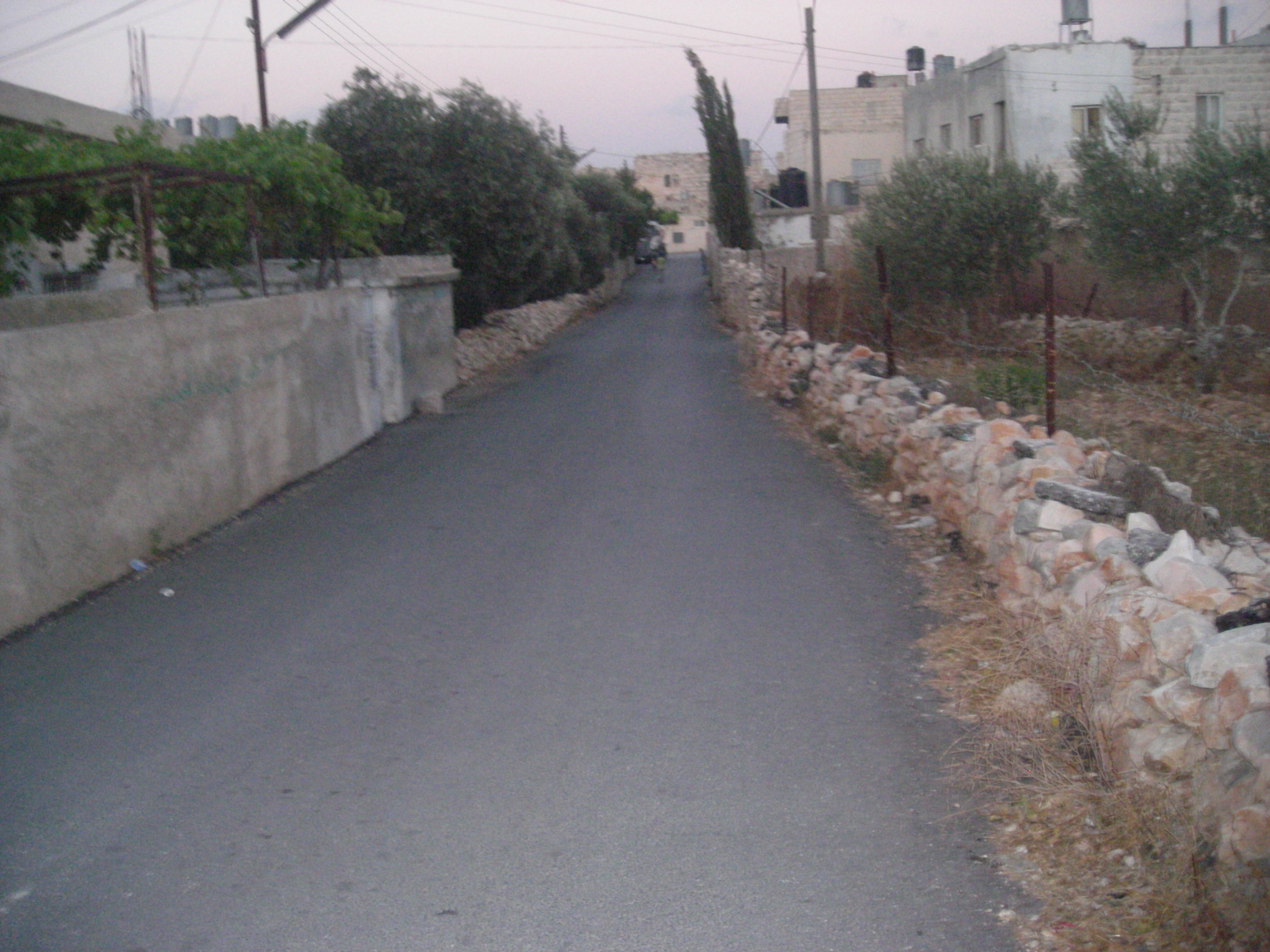 Dayr Ghassana - دير غسّانه : street in dair ghassaneh