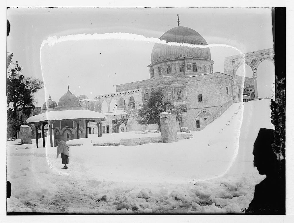 ثلوج فلسطينية *************** Dome_of_the_Rock-15362.jpg