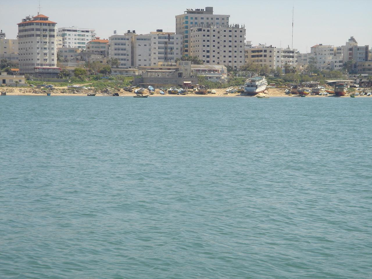 Gaza - غزة هاشم : General view #8 from the sea