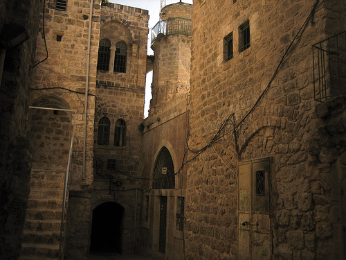 Hebron - الخليل : The Othman Mosque in the old city