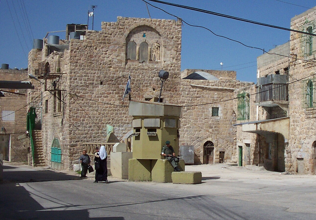 Hebron - الخليل : Another check point in the old city #3