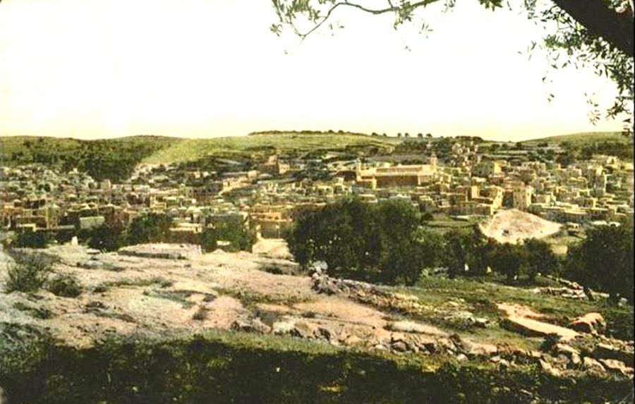 Hebron - الخليل : Hebron- Late 19th, early 20th c. - 8