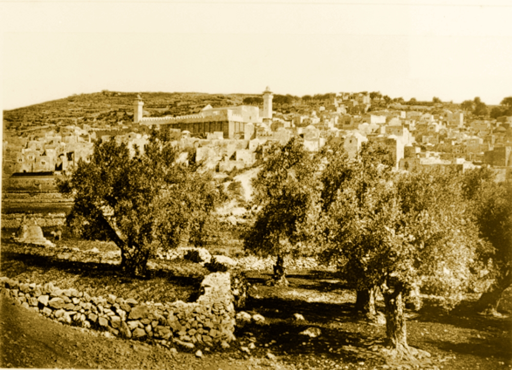 Hebron - الخليل : Hebron - Late 19th, early 20th c. - 24 (1881)