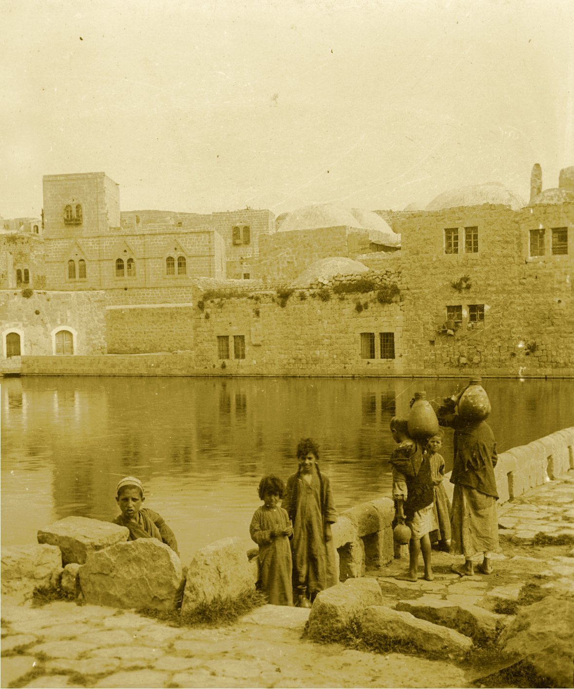 Hebron - الخليل : Hebron - Late 19th, early 20th c. - 61 - Birket Al-Sultan