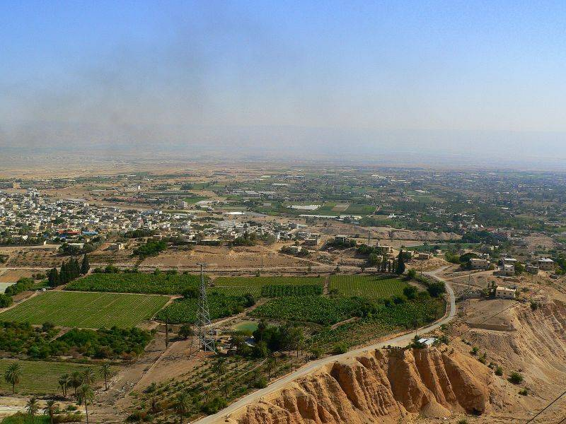 Jericho - أريحا : General view from the Mount of Temptation. (photo #4)