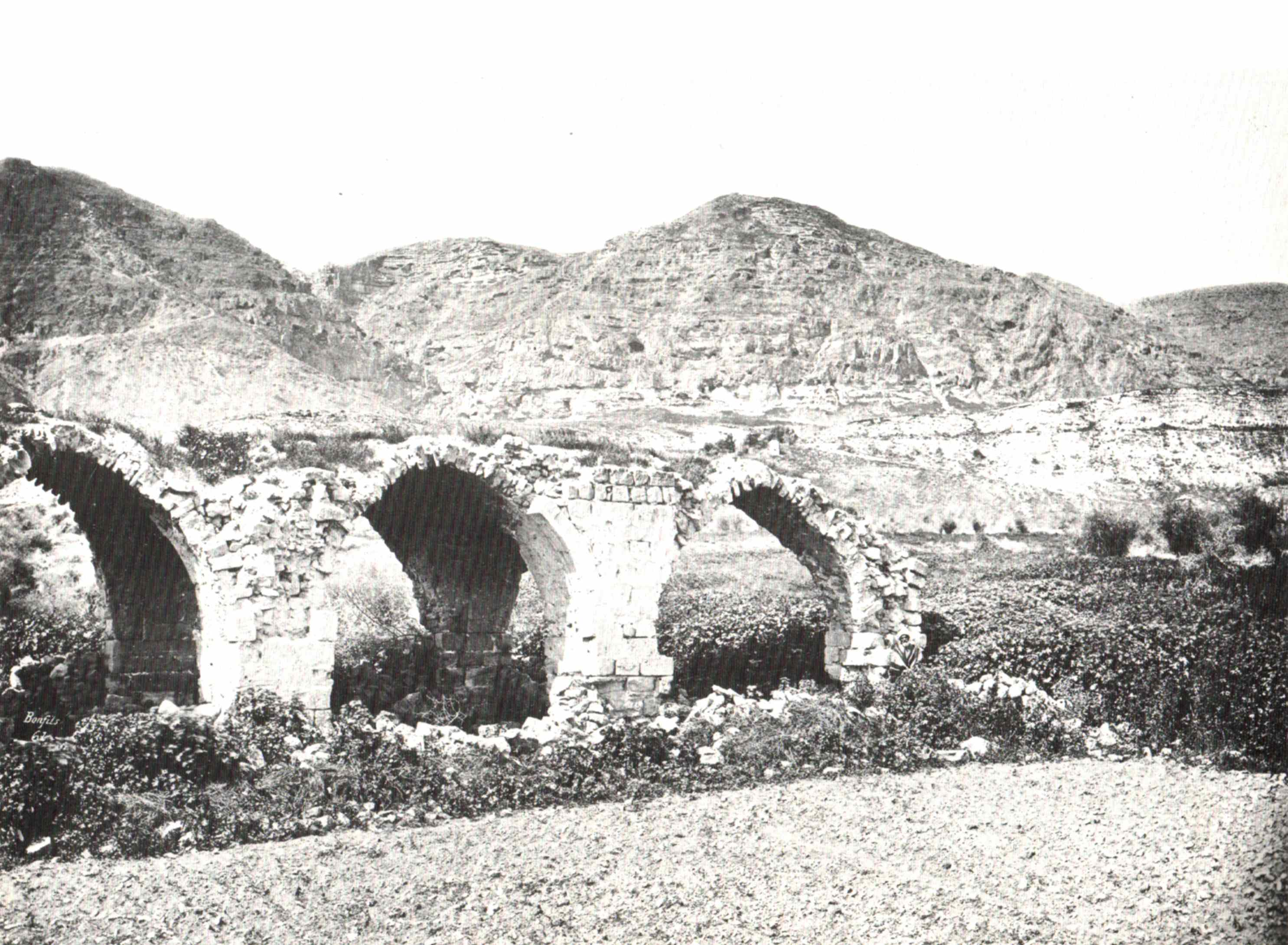 Jericho - أريحا : The Mount Of The Temptation, 1877