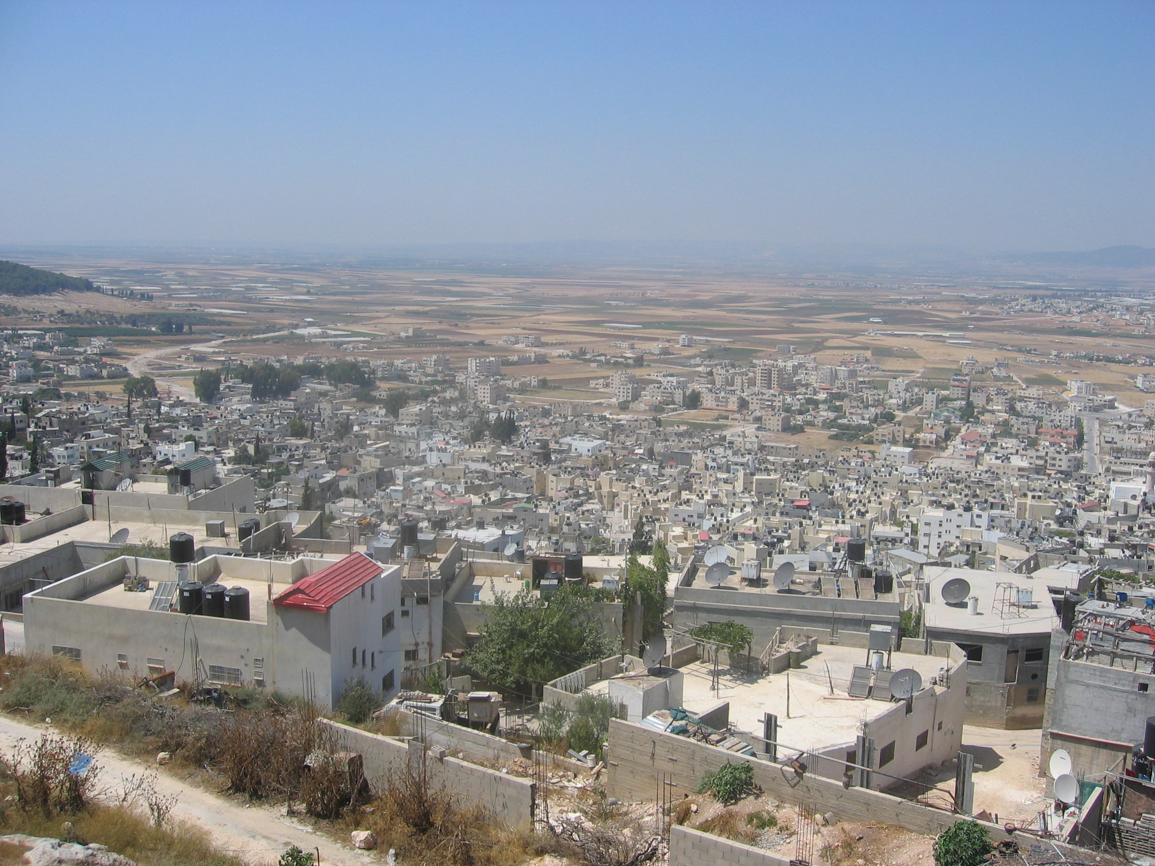 Jinin - جنين : General view of the refugee camp