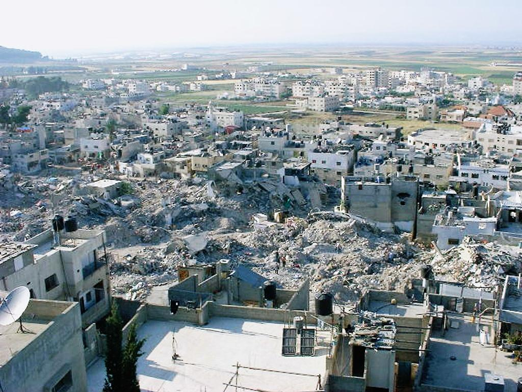 Jinin Refugee Camp - مُخيّم جنين : Soon after the Israeli invasion and destruction much of the camp in 2002