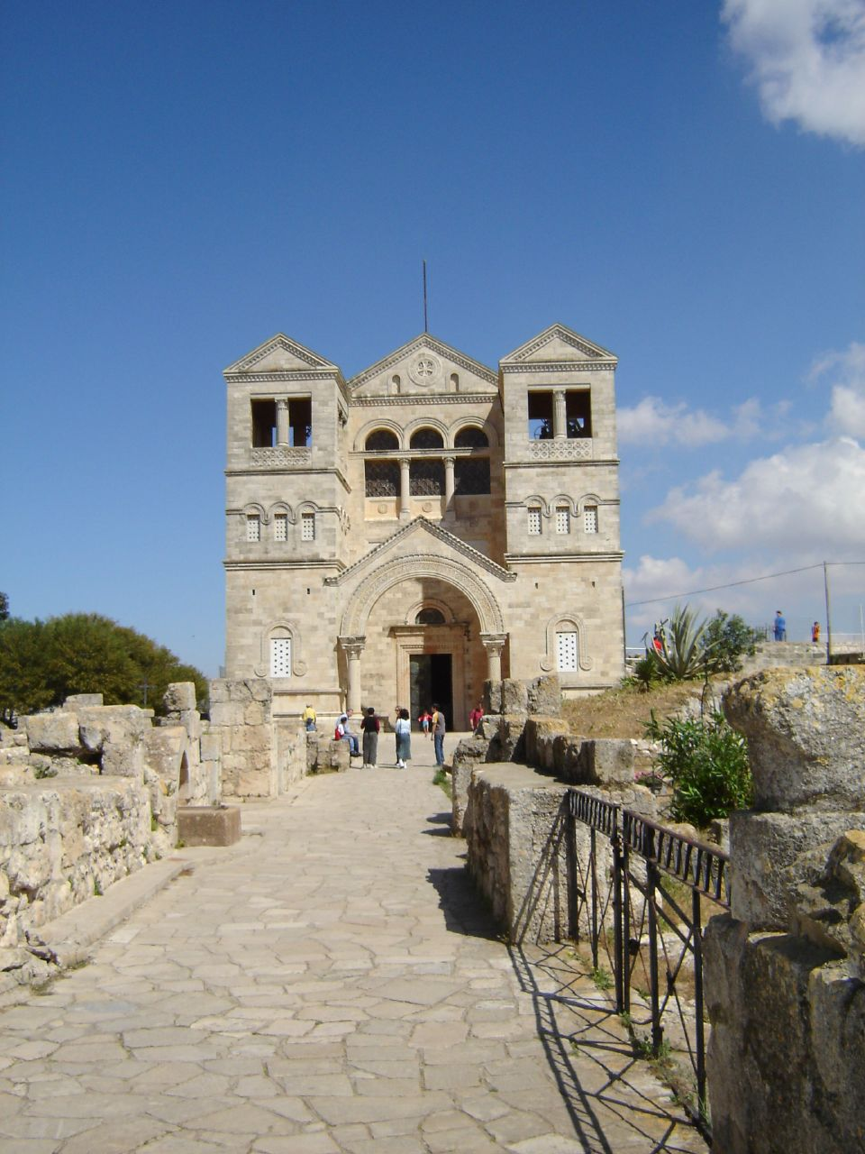 Mt. Tabor - جبل طابور : The Church on top of the mountain