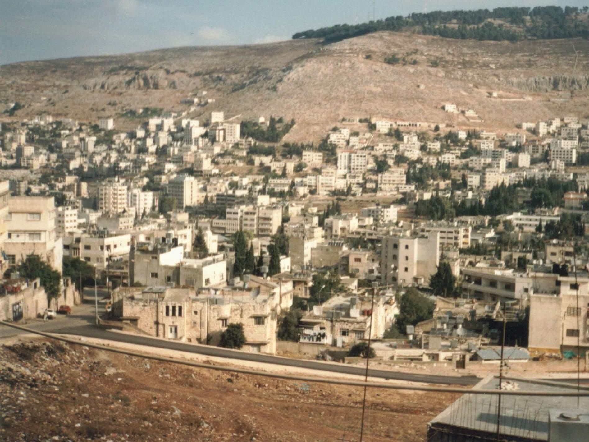 Nablus - نابلس : Undated picture for Eibal mountain