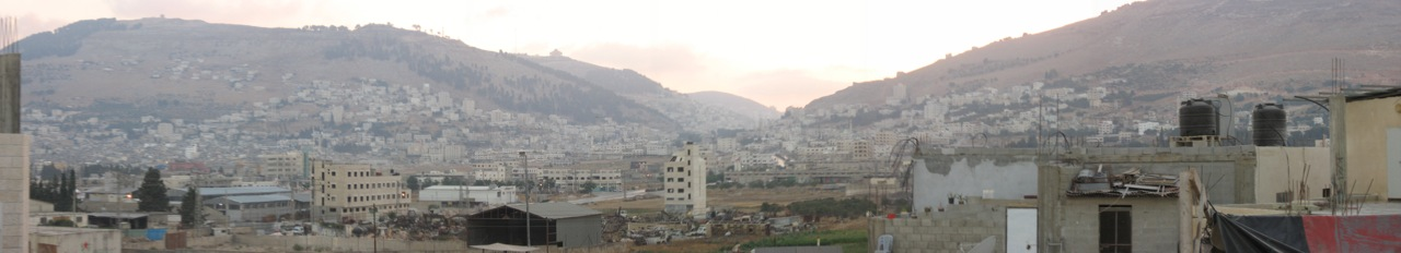 Nablus - نابلس : Another panoramic view for the city #2