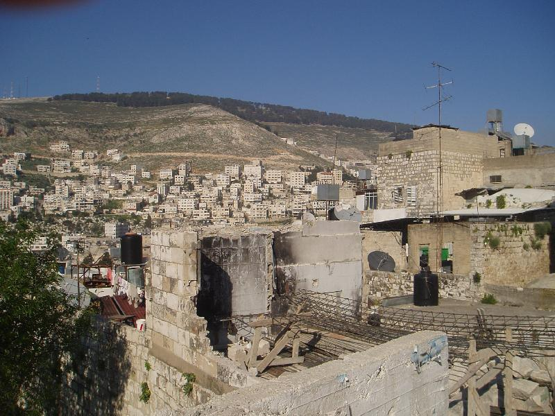 Nablus - نابلس : General view of the city from the Casabah area #2
