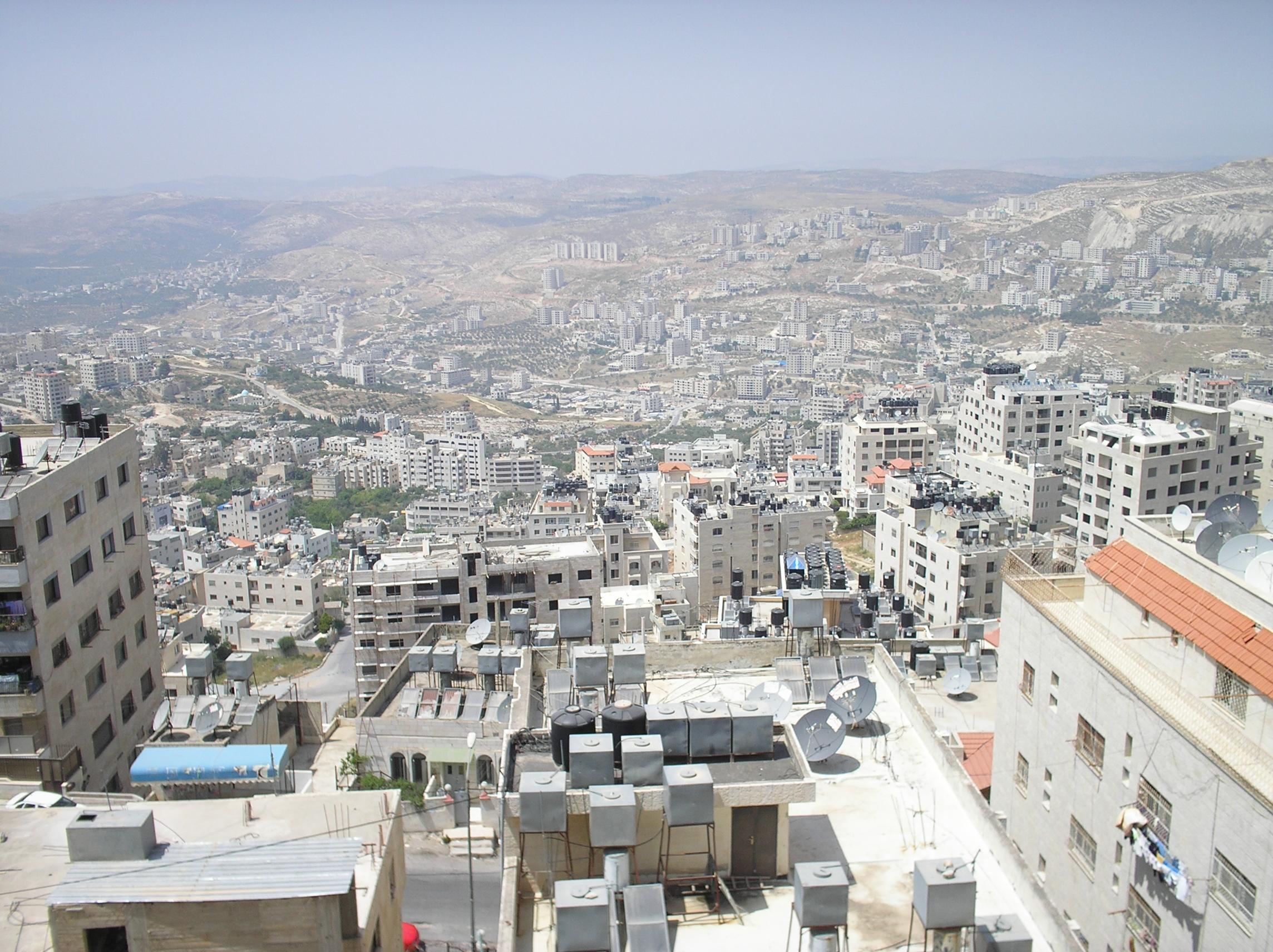 Nablus - نابلس : General view of the city (2006)